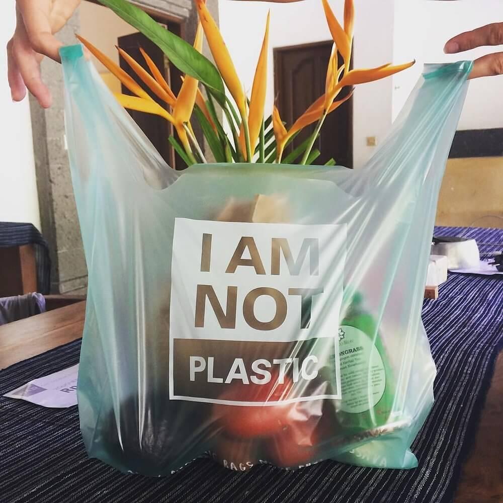 aqualene plastic bag